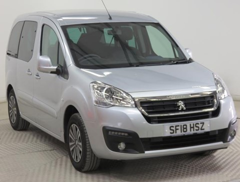 Nearly New WAV Peugeot Partner 1.6 Blue HDi 100 Active ETG  automatic diesel