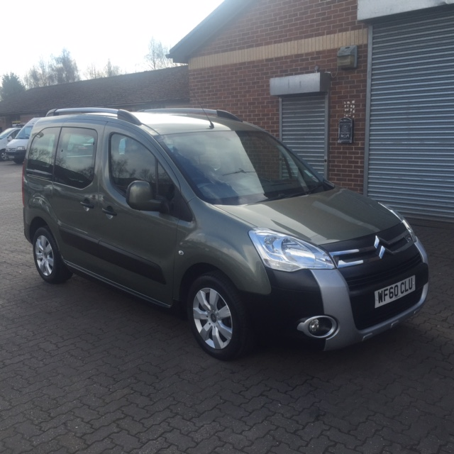 Used Wheelchair Accessible Citroen Berlingo Multispace 1.6 HDi XTR  diesel manual with winch