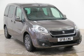 Used Wheelchair Accessible Peugeot Partner 1.6 E Hdi diesel Auto