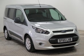 Used Wheelchair Accessible Ford Tourneo Connect Zetec 100 diesel manual