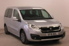 Nearly New WAV Peugeot Partner 1.6 Blue HDi 100 Active manual