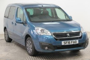 Used Wheelchair Accessible WAV  Peugeot Partner 1.6BlueHDi 100 Active automatic