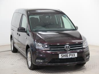 Used Wheelchair Accessible Volkswagen Caddy Maxi 2.0 TDI Life manual