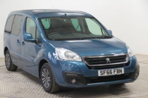 Nearly New WAV Peugeot Partner Active 1.6 BlueHDi100 automatic