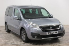 Used Wheelchair Accessible Peugeot Partner 1.6BlueHDi 100 Active automatic