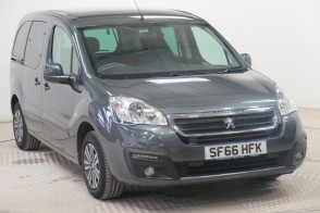 Used Wheelchair Accessible Peugeot Partner 1.6 BlueHD 100 Active