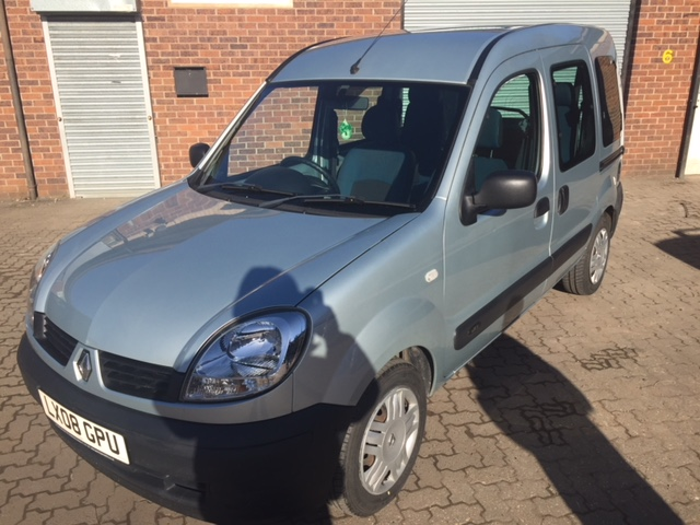 Used Wheelchair Accessible Renault Kangoo 1.5 diesel manual 4seats