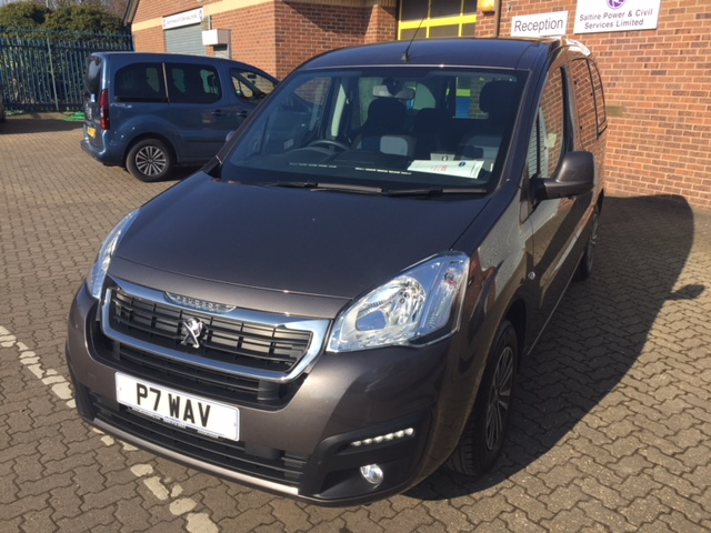 Nearly New WAV Peugeot Partner 1.6 Blue HDi Active ETG automatic diesel