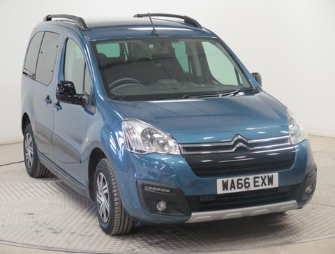 Used Wheelchair Accessible Citroen Berlingo 1.6 Blue HDi 100 XTR ETG 6 1.6 diesel  automatic