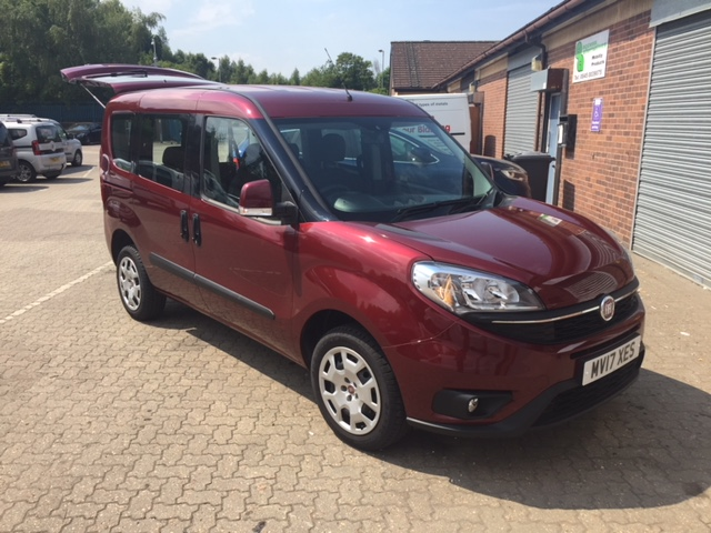 Used Wheelchair Accessible Fiat Doblo Easy Air petrol manual WAV