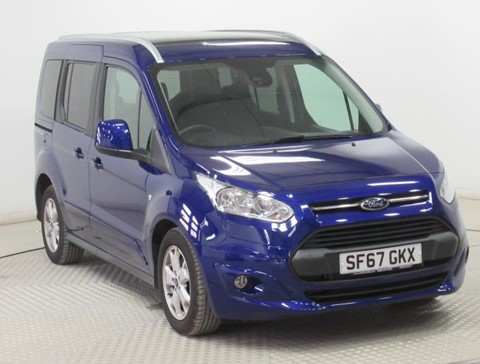 Used Wheelchair Accessible Ford Tourneo Connect Titanium 100 diesel manual