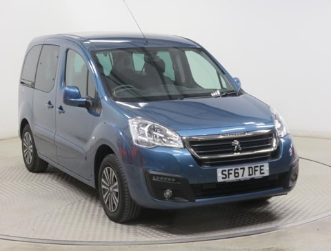 Nearly New WAV Peugeot Partner 1.6BlueHDi 100 Active ETG automatic