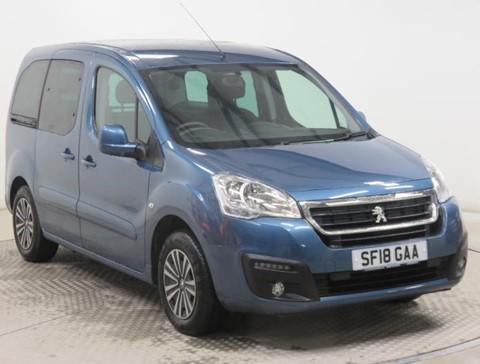 Nearly New WAV Peugeot Partner 1.6BlueHDi 100 Active ETG Automatic