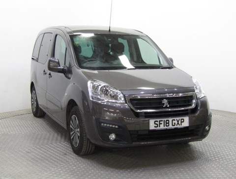 Nearly New WAV Peugeot Partner 1.6BlueHDi 100 Active manual 4 seats