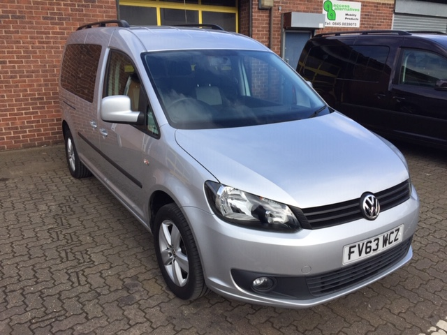 Used Wheelchair Accessible Volkswagen Caddy Maxi 1.6 TDI DSG automatic( 5 seats)