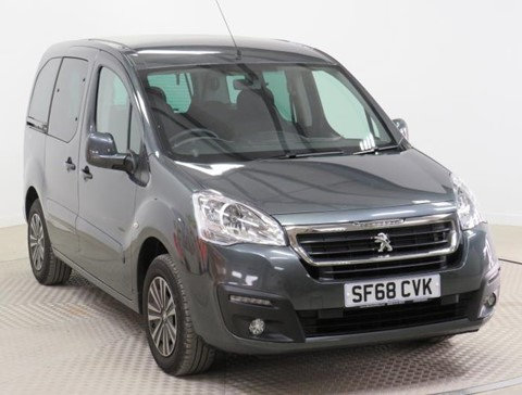 Used Wheelchair Accessible Peugeot Partner 1.6BlueHDi 100 Active ETG automatic