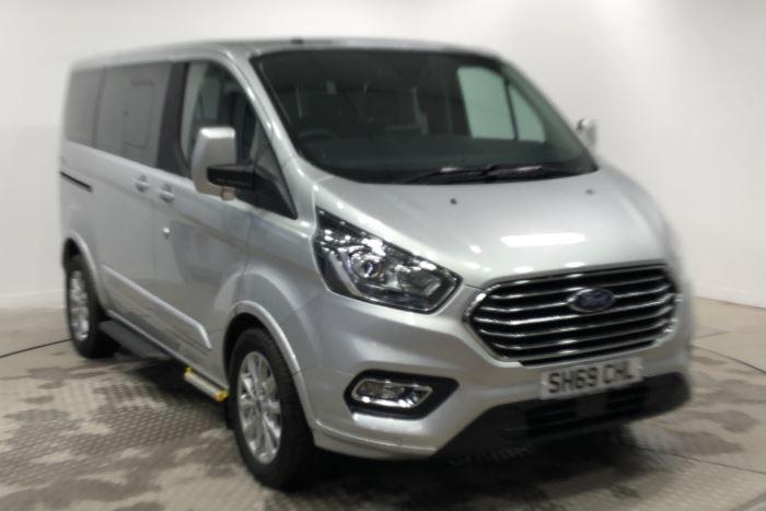 Nearly New WAV Ford Tourneo Custom Titanium 2.0 ltr Titanium L1 automatic 4 seats