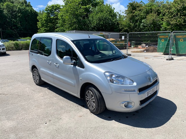 Used Wheelchair Accessible Peugeot Partner 1.6 Hdi S model