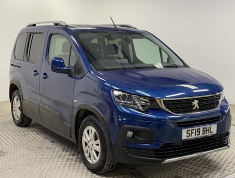 Nearly New WAV Peugeot Rifter 1.5D 130Alu RE Automatic