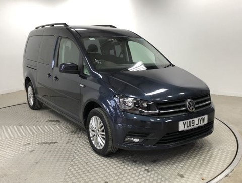 Nearly New WAV VW Caddy Max 2.0 TD 102 Life Automatic