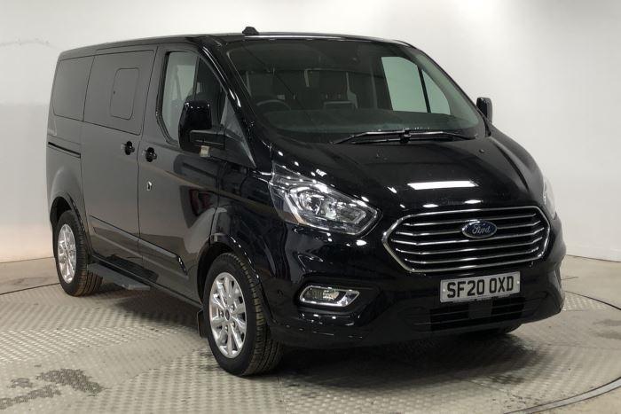 Nearly New WAV Ford Tourneo Custom Titanium 2.0 ltr Titanium L1 automatic 6 seats