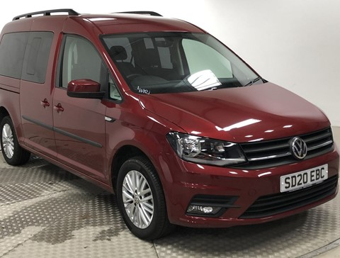 Nearly New WAV VW Caddy Maxi 2.0 ltr TD 102 Life Automatic