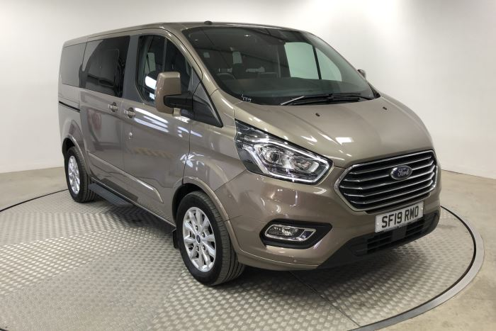 Nearly New WAV Ford Tourneo Custom Titanium 2.0 ltr Titanium L1 manual 5 seats