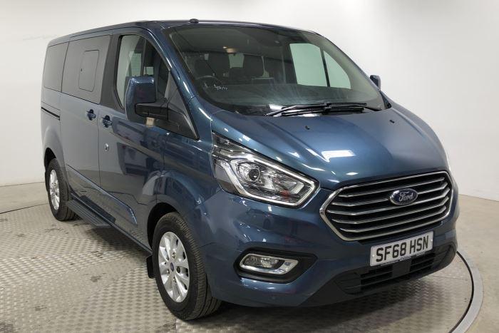 Nearly New WAV Ford Tourneo Custom Titanium 2.0 ltr Titanium L1 automatic 5 seats