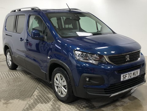 Nearly New WAV Peugeot Rifter 1.5D 130Alu RE LWB Automatic Flexi seating