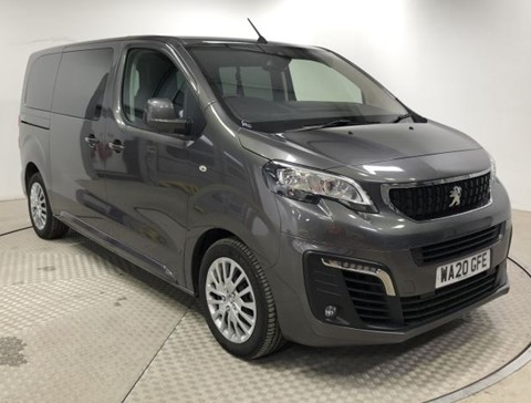 Used Wheelchair Accessible Peugeot Traveller Active 1.5 hd120  Up Front wheelchair position